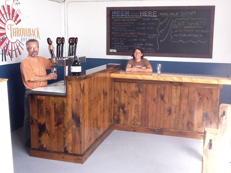 Throwback Brewery Tasting Room