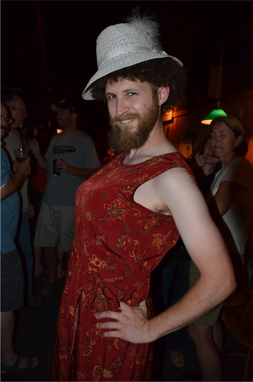 Throwback Brewery Keg Rollout - Drag Winner!