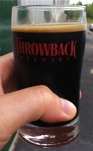 Throwback Brewery Tasting Glass