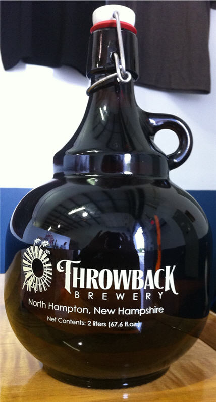 Throwback Brewery Growler