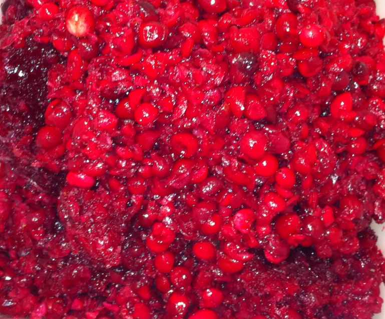 Cran-licious NH Cranberries for Throwback Brewery's Merry! Happy! Dreid-Ale!