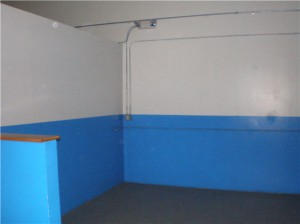 Throwback Brewery Bar Area Before