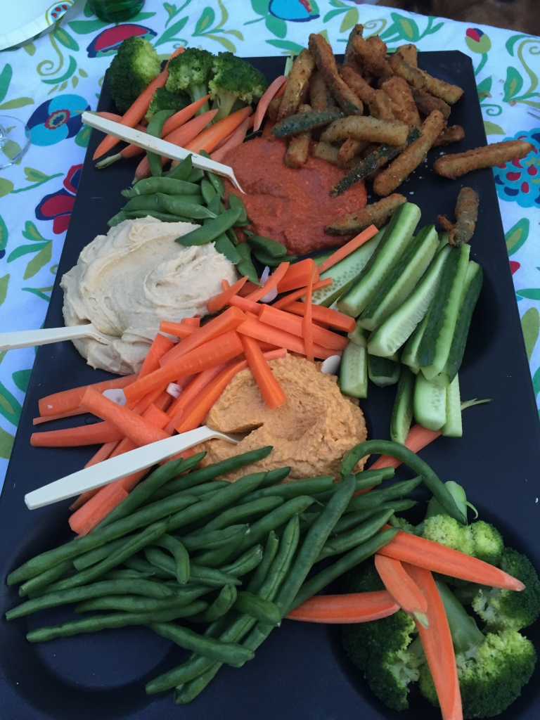 Veg and dip 3 ways