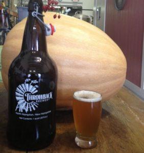 gourdgeous pumpkin Ale - Throwback Brewery