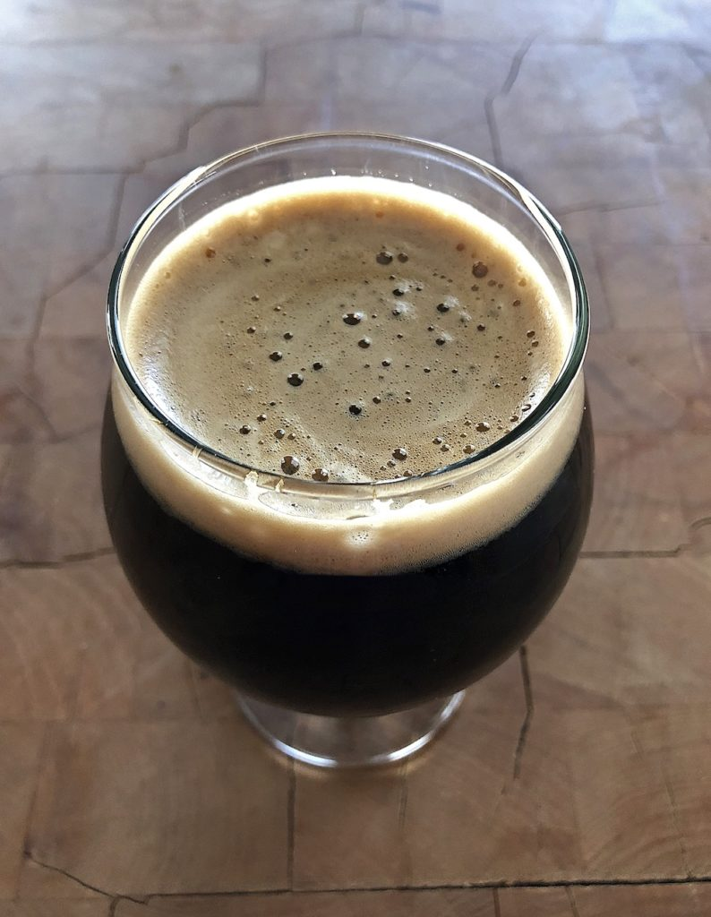 Throwback Brewery's Imperial Pumpkin Porter